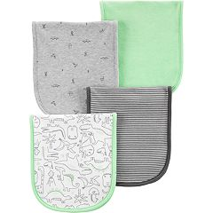 Baby Boy Carter's 4-pack Dinosaur Burp Cloths