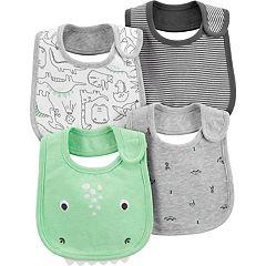 Baby Boy Carter's 4-pack Dinosaur Bibs