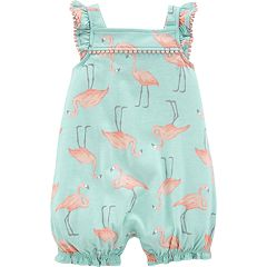 Baby Girl Carter's Flamingo Romper