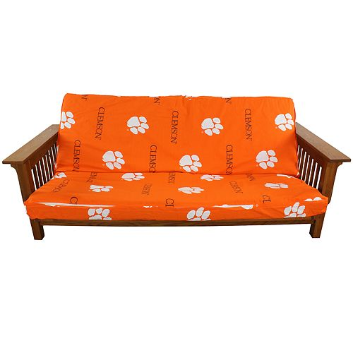 Clemson Tigers Full-Size Futon Cover