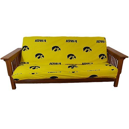Iowa Hawkeyes Full-Size Futon Cover