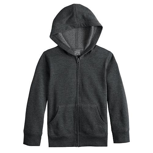 Boys 4-12 Jumping Beans® Basic Softest Fleece Zip Hoodie