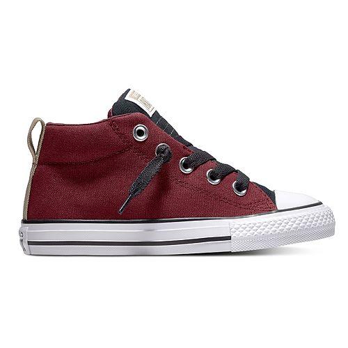 Boys' Converse Chuck Taylor All Star Street Slip Mid Sneakers