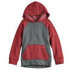 Boys 4-12 Jumping Beans® Raglan Softest Fleece Pullover Hoodie