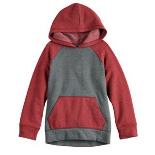 Boys 4-12 Jumping Beans® Raglan Softest Fleece Pullover Hoodie