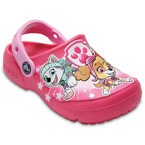 4cf4f5e4a Crocs Fun Lab Paw Patrol Girls  Clogs
