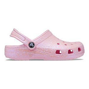 Crocs Classic Glitter Girls' Clogs