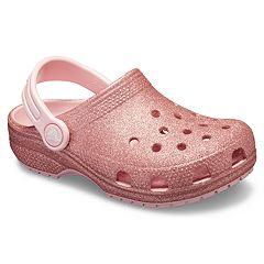 41ed5b8bc174 Crocs Classic Glitter Girls  Clogs