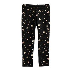 Toddler Girl Jumping Beans® Printed Fleece Lined Leggings