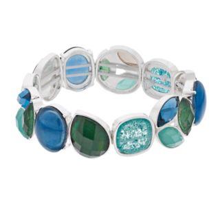Dana Buchman Blue & Green Stretch Bracelet