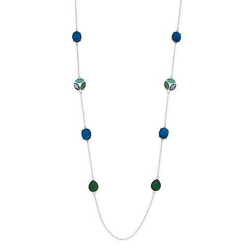 Dana Buchman Simulated Crystal Stone Strand Necklace
