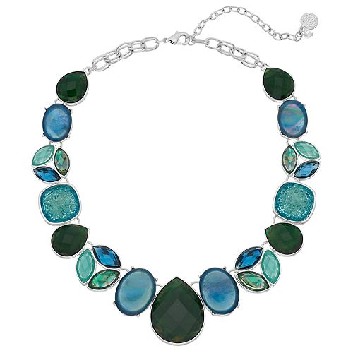 Dana Buchman Simulated Stone Collar Necklace