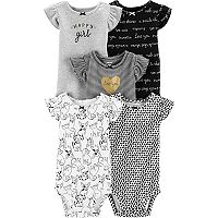 Deals on 15-Pack Carters Baby Girls and Boys Bodysuit