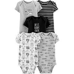 Baby Boy Carter's 5-pack Graphics & Prints Bodysuits