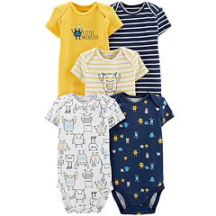 Baby Boy Carter's 5-pack Monster Bodysuits
