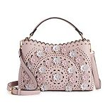Mellow World Piper Floral Perforated Crossbody Bag