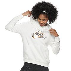 Women's Nike Sportswear Funnel-Neck Fleece Hoodie