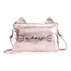 T-Shirt & Jeans 'Meow' Convertible Crossbody Bag
