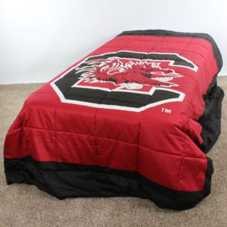 South Carolina Gamecocks King-Size Light Comforter