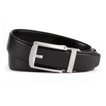 Men's Van Heusen Modern Flex Stretch Click to Fit Leather Belt