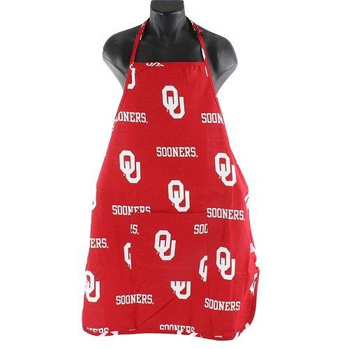 Oklahoma Sooners Grilling Apron