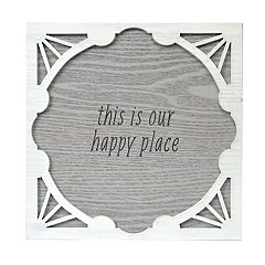 New View 'Our Happy Place' Wall Decor