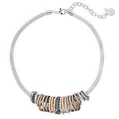 Dana Buchman Multi Ring Collar Necklace