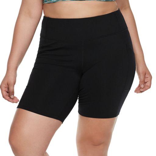 Plus Size Tek Gear® Shaping Bike Shorts