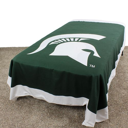 Michigan State Spartans Queen-Size Duvet Cover