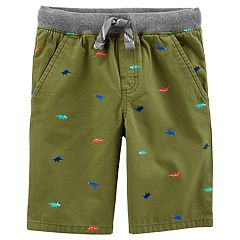 Baby Boy Carter's All Over Dinosaur Pull On Shorts
