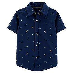 Baby Boy Carter's Printed Button-Up Shirt
