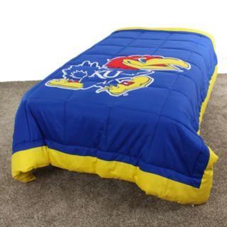Kansas Jayhawks Queen-Size Light Comforter