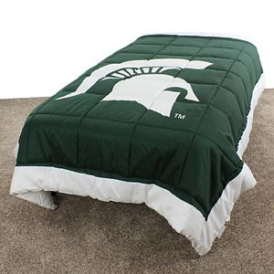 NCAA Michigan State Spartans Queen Bed Skirt
