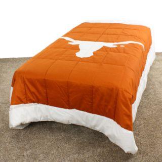 Texas Longhorns Queen-Size Light Comforter