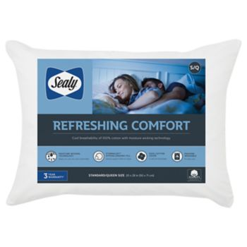 Sealy Elite 2-pack Moisture Wicking Jumbo Pillow