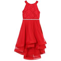 Girls 7-16 & Plus Size Speechless Rhinestone Bodice & Tulle Dress