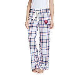 Women's Detroit Pistons Flannel Pajama Pants