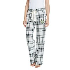 Women's Milwaukee Bucks Flannel Pajama Pants