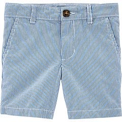 Baby Boy Carter's Striped Flat Front Shorts
