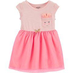 Baby Girl Carter's Unicorn Pocket Dress