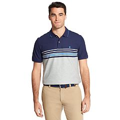 Men's IZOD Advantage SportFlex Classic-Fit Striped Performance Polo