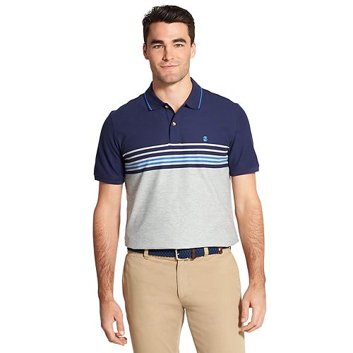 056ee2b1 Men's IZOD Advantage SportFlex Classic-Fit Striped Performance Polo