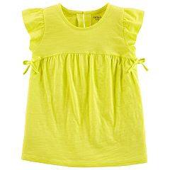 Girls 4-14 Carter's Babydoll Shirred Top