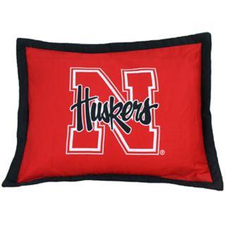 Nebraska Cornhuskers Logo Pillow