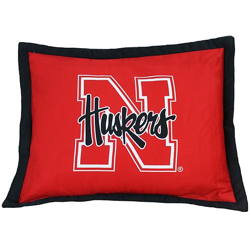 Nebraska Cornhuskers Logo Pillow