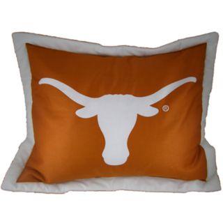 Texas Longhorns Logo Pillow