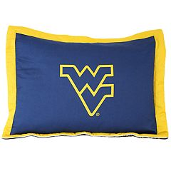 West Virginia Mountaineers Logo Pillow