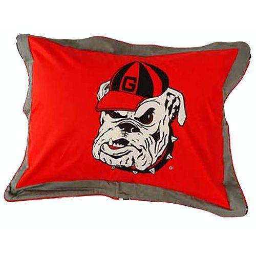 Georgia Bulldogs Logo Pillow