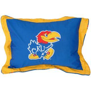 Kansas Jayhawks Logo Pillow