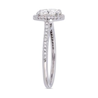 Stella Grace 2 ct. T.W. Lab-Created Moissanite & 1/4 ct. T.W. Diamond Engagement Ring